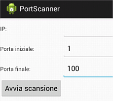 android port scanner app