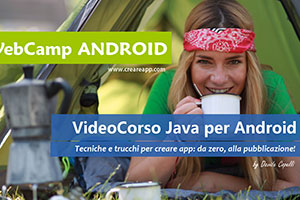Corso Creare APP Android Corso